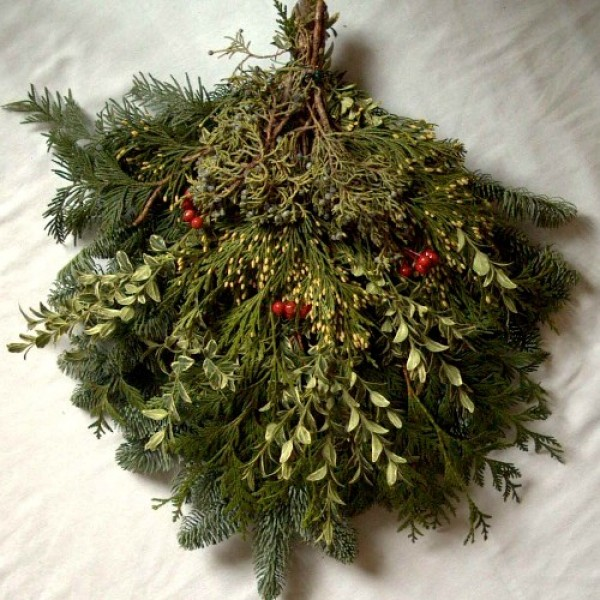 Fresh Pine Boughs and Bunches